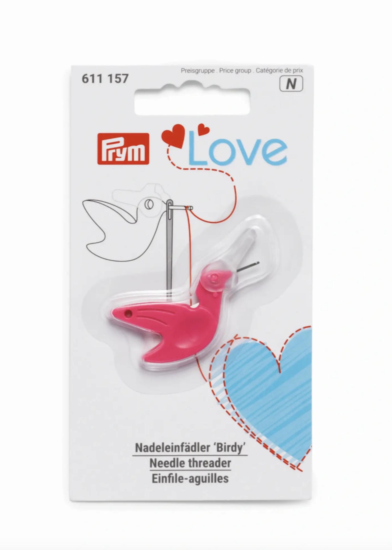 Prym Love draaddoorsteker birdy