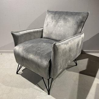 Luxe fauteuil grijs