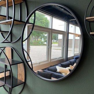 Spiegel groot rond Ø80