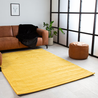 Vloerkleed geel 160x230