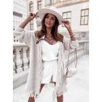 Estee Brown Gilet –  Fluches – Beige