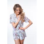 Yentl K Pyjama short velours 2-1