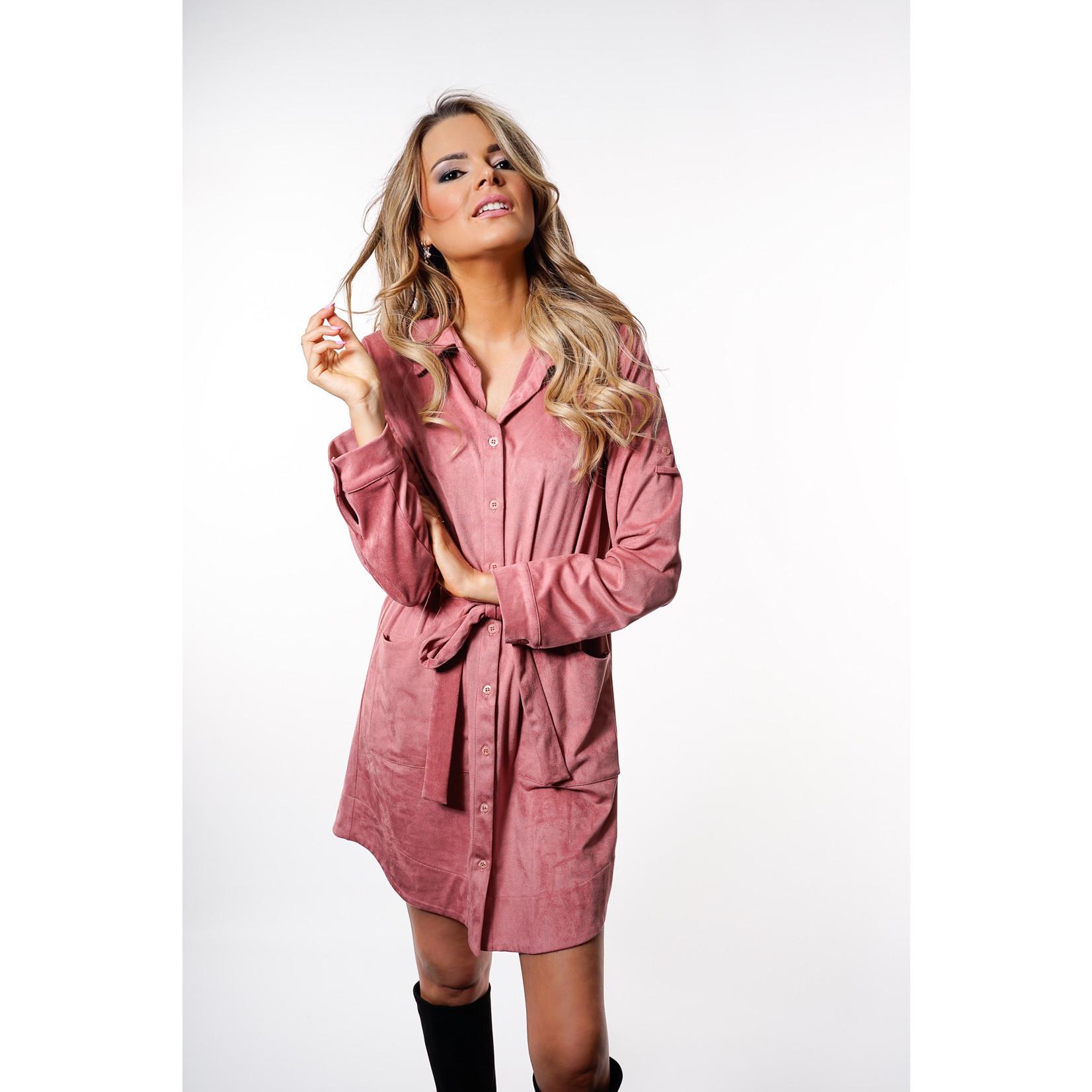 Yentl K Suede dress 22-2