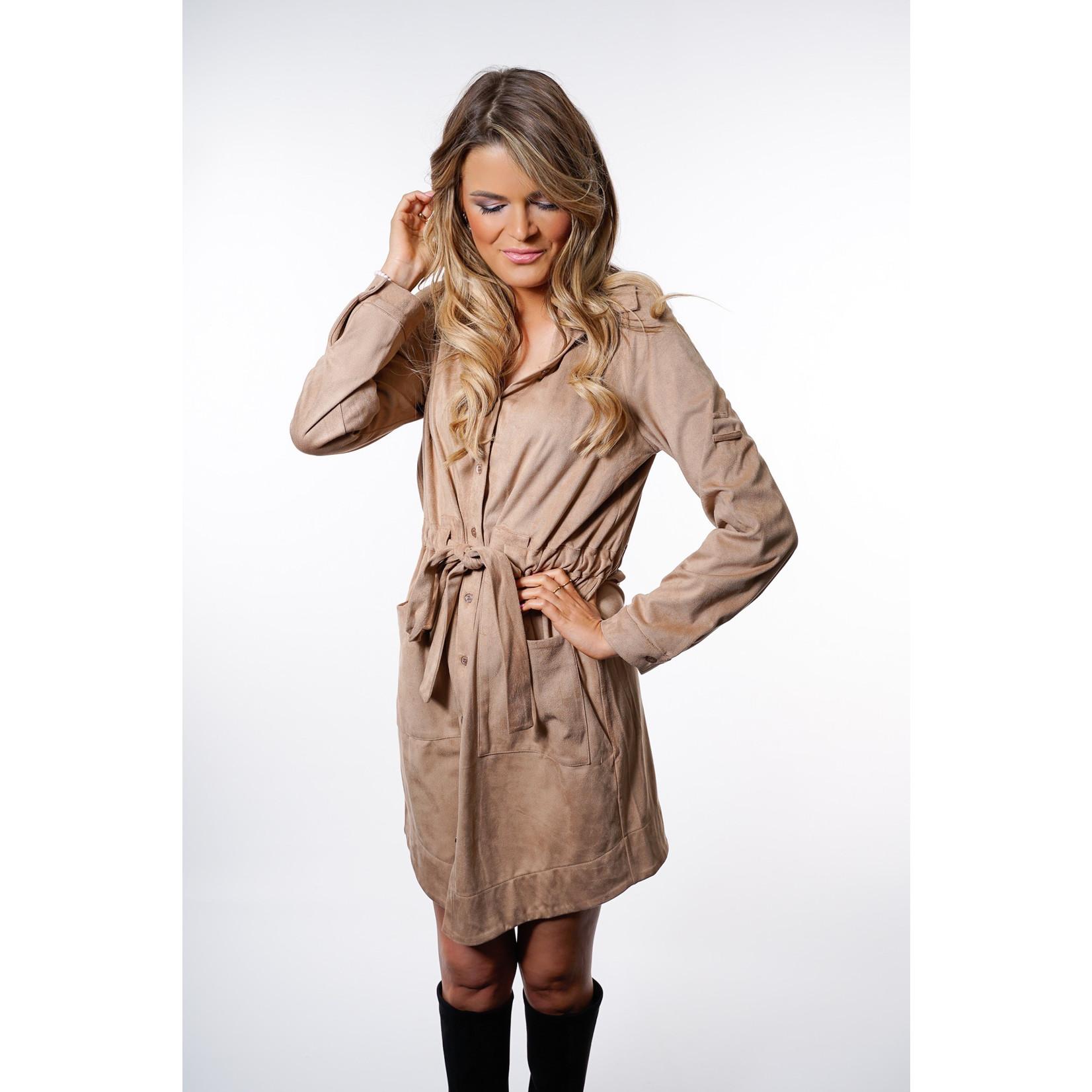 Yentl K Suede dress 22-1
