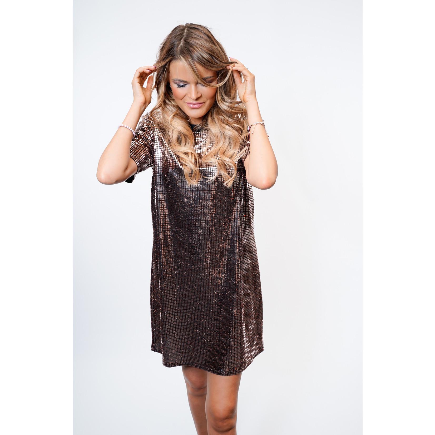 Yentl K Glitter Dress 34