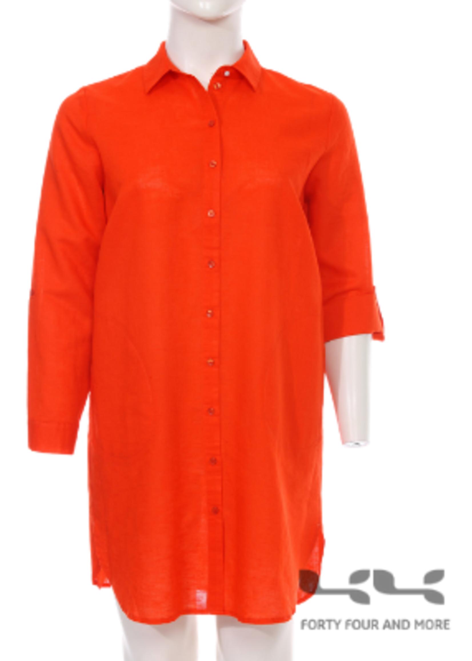 Frapp blouse, linnenmix (1102 758)