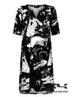 Chrissize Jurk Brenda, print Oriental