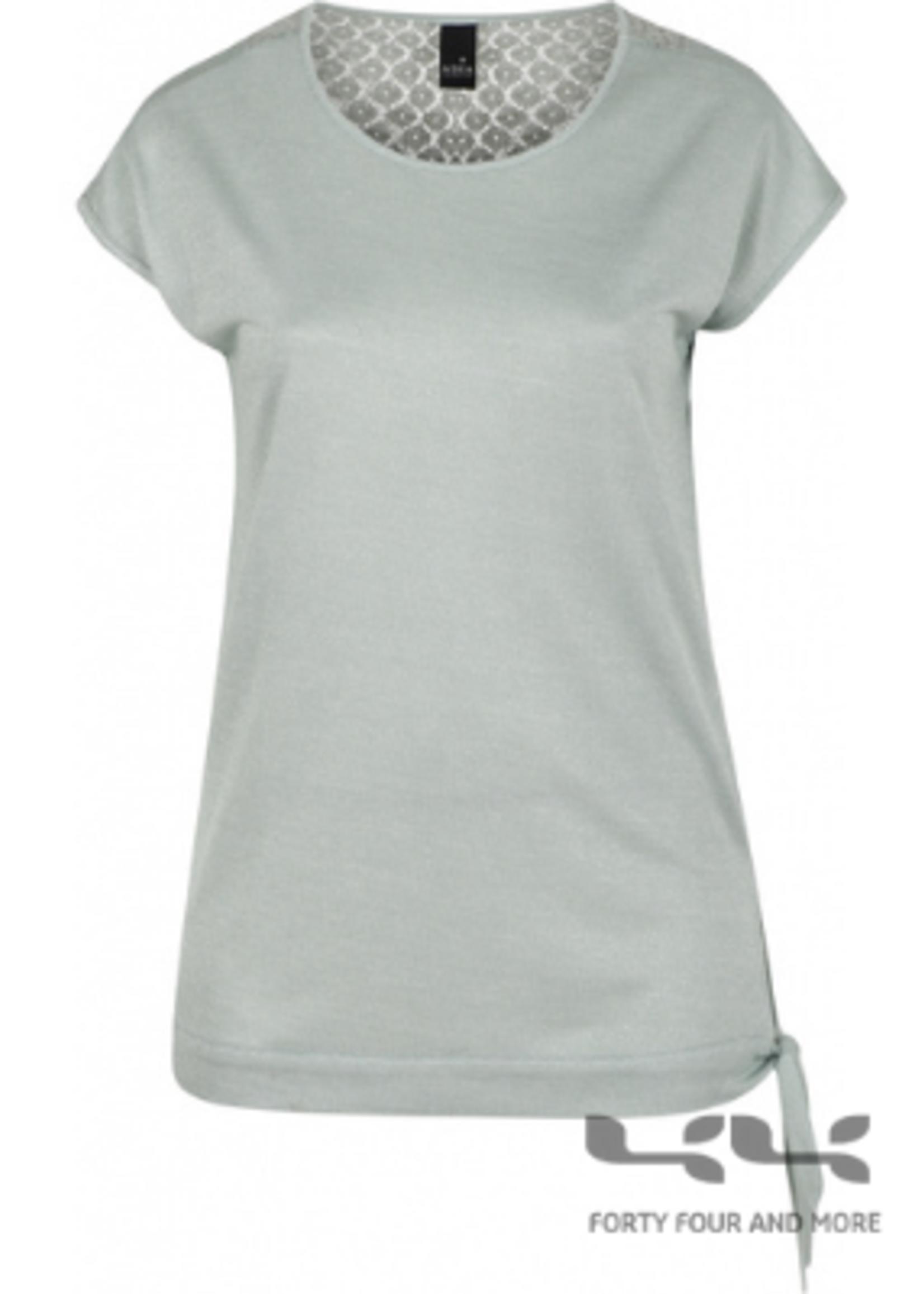 Adia Shirt, kapmouw, knoop heup, rugpas kant