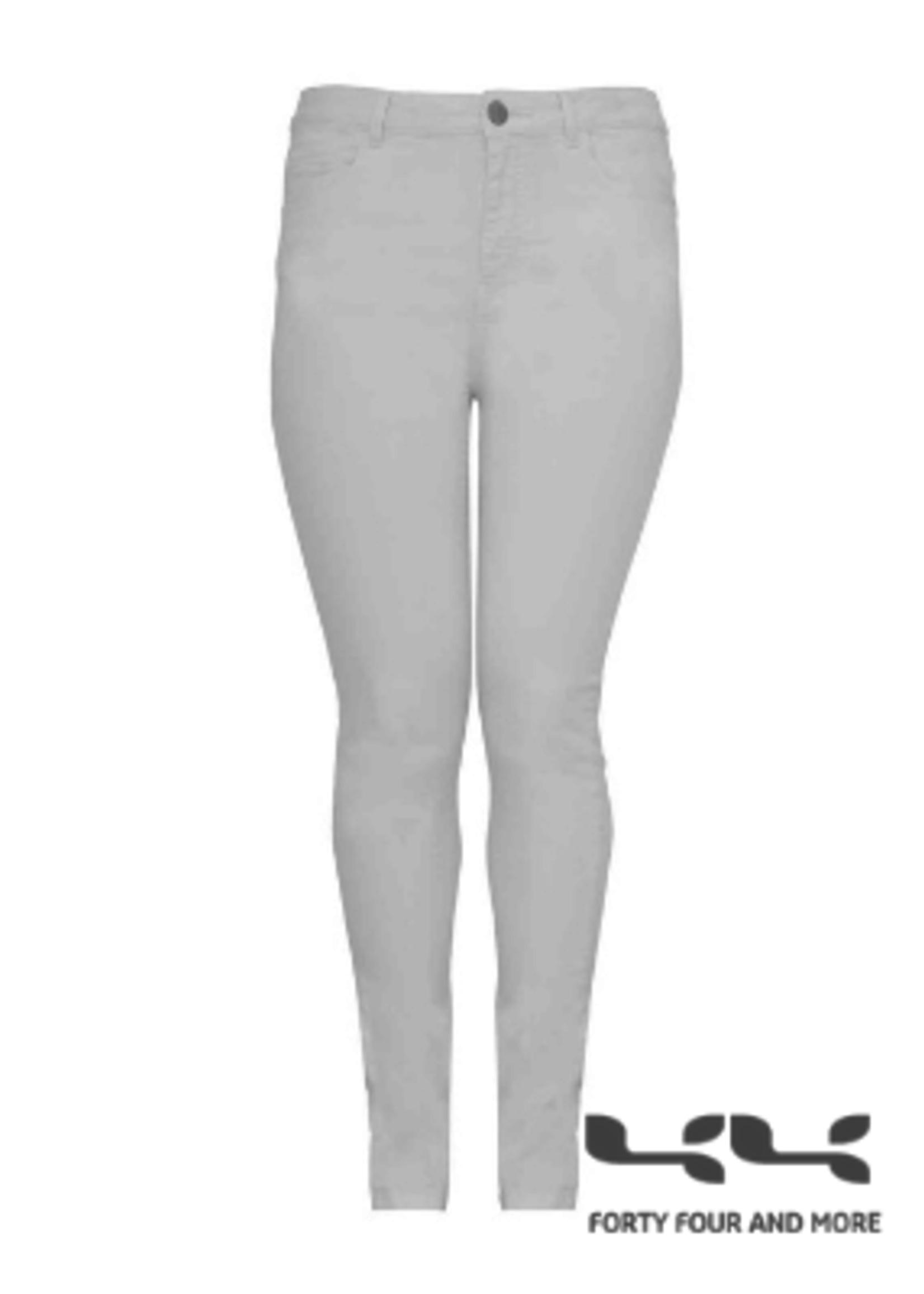 Yoek Yoek  jeans wit