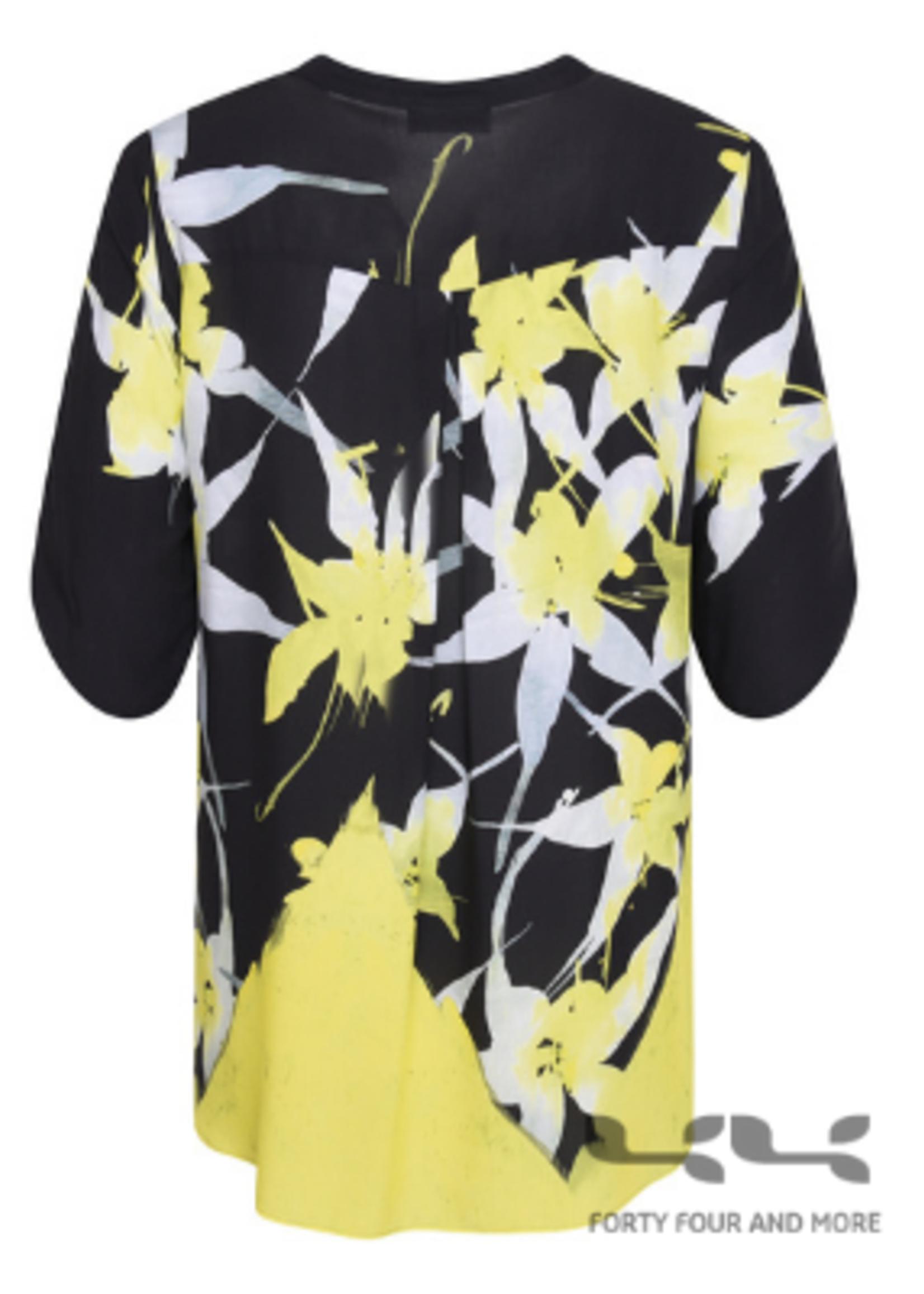 Doris Streich Blouse batist bloemenprint
