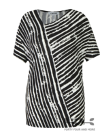 KJBrand Shirt diagonale streep
