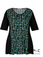 KJBrand Shirt KjBrand groen/blauw