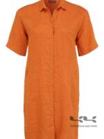 Doris Streich Doorknoopjurk/ blouse linnen