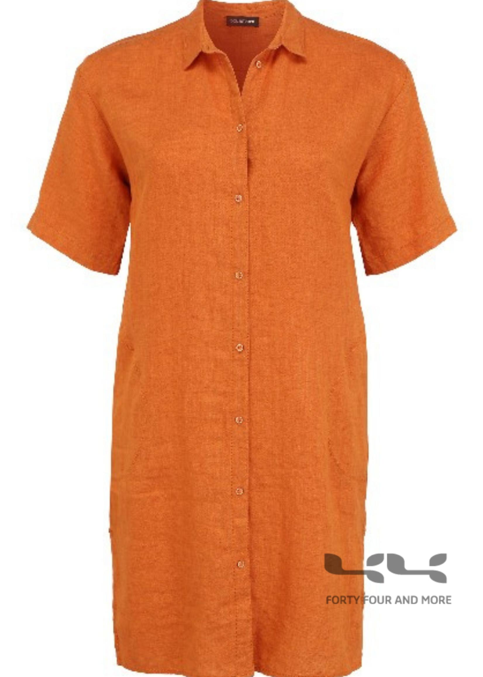Doris Streich Doorknoopjurk / blouse linnen