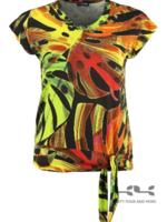 Doris Streich Shirt monstera print