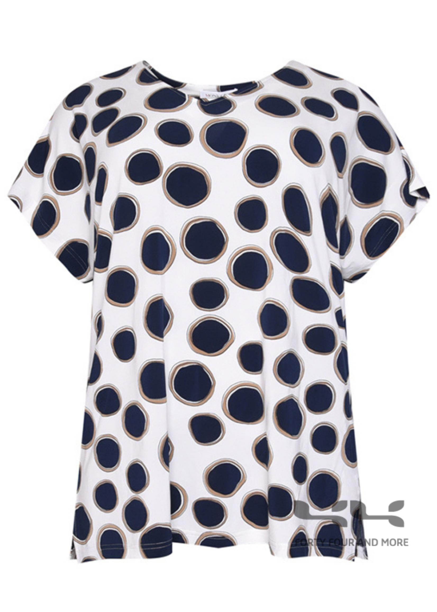 Mona LIsa Shirt met bollenprint