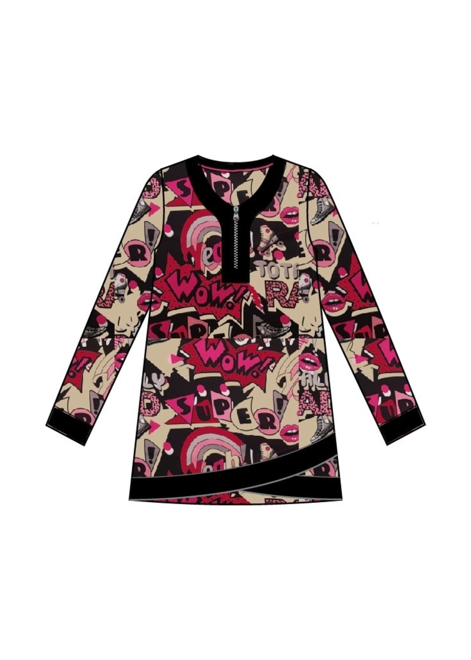 Chalou Shirt Jutta , A-lijn Chalou (CH8681)