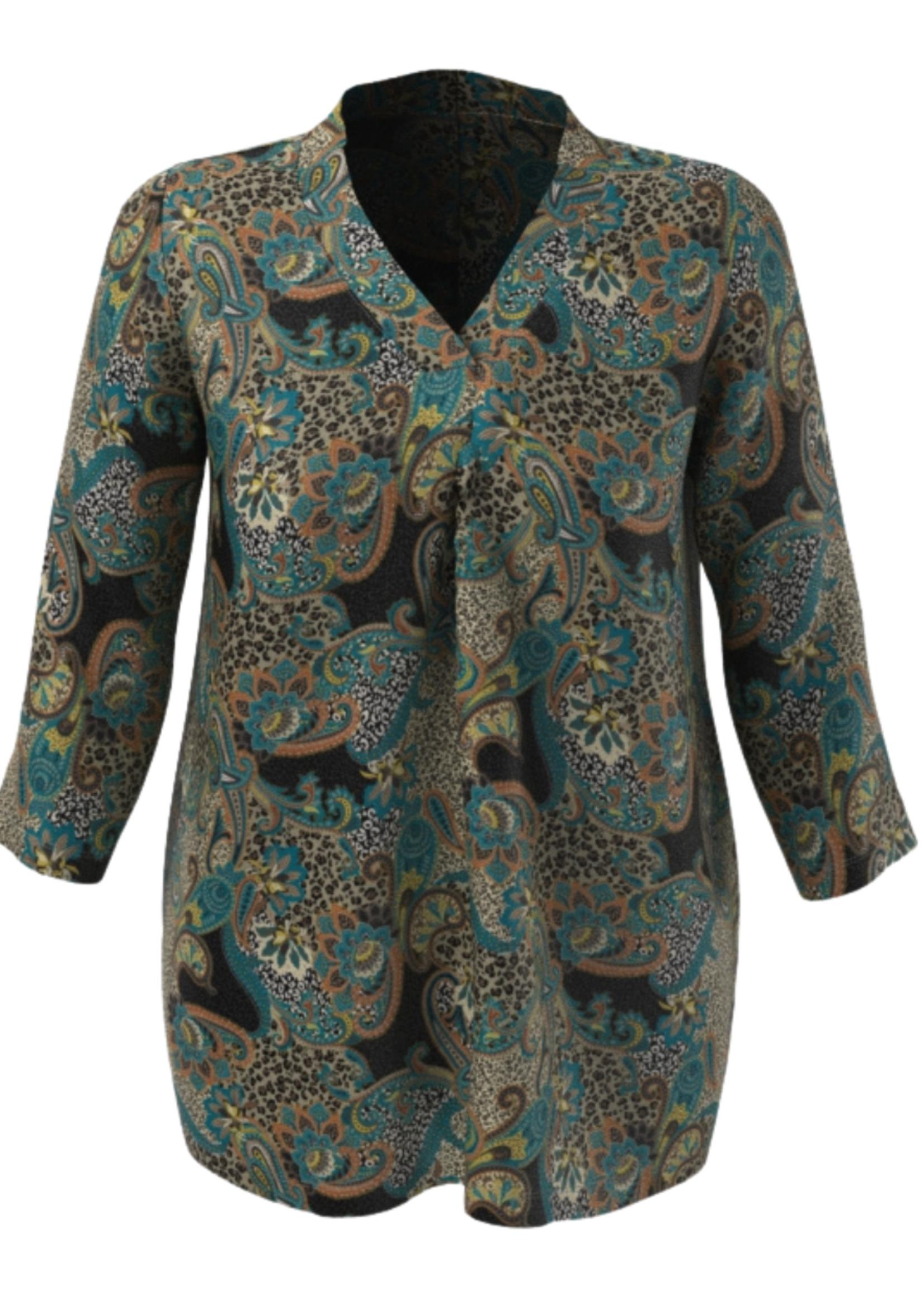 MJ Style shirt Irene, V-hals