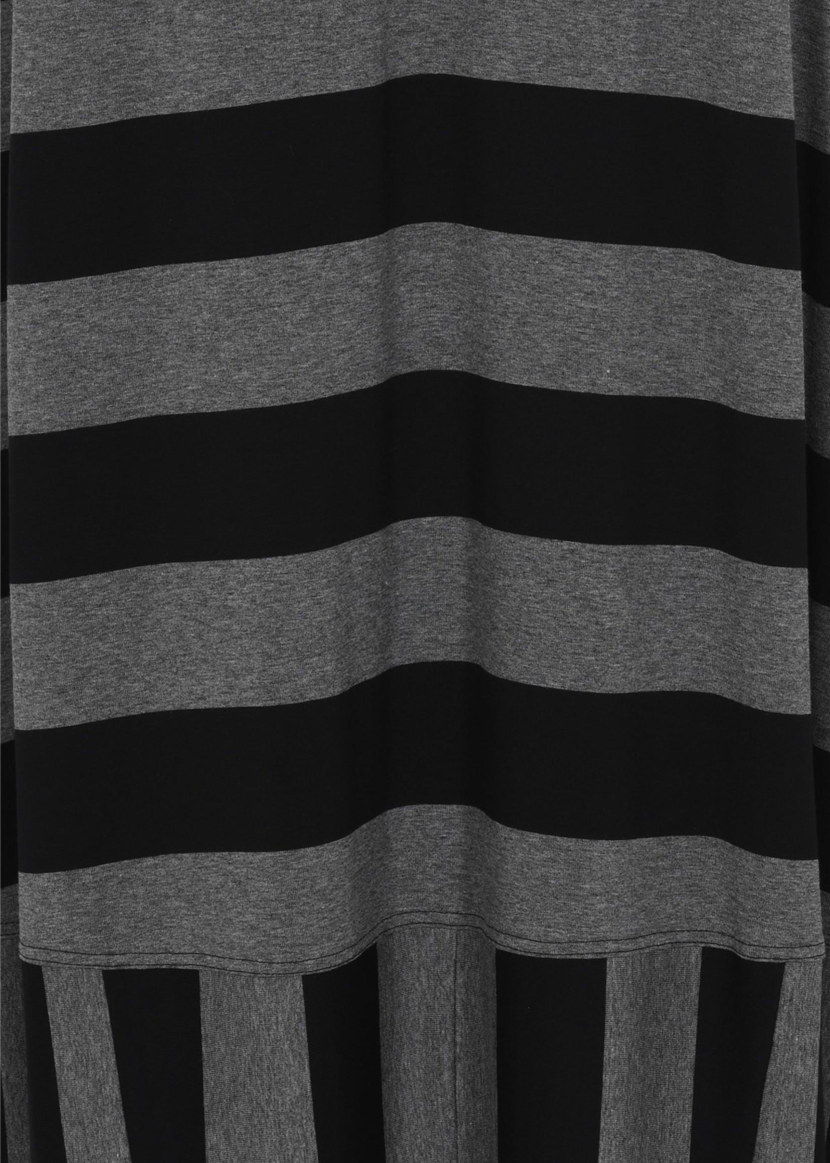 Qneel Q'neel rok grijs / zwart streep (85727 8843)