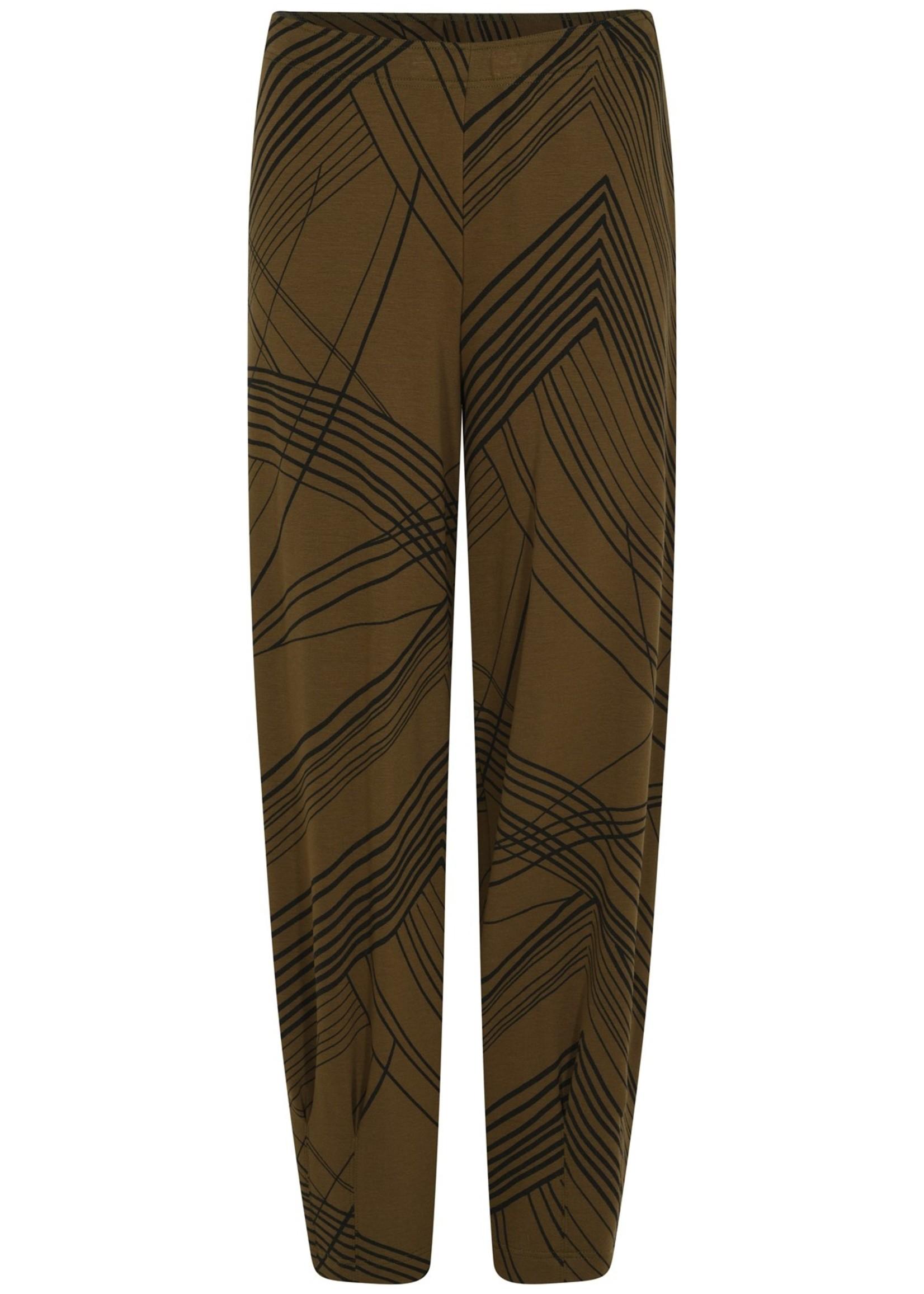 Qneel Q'neel pantalon grafische print (81839 8844)