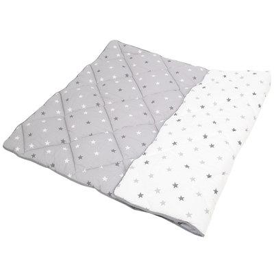Hobea Speelkleed grijs/wit met grijs/witte sterren