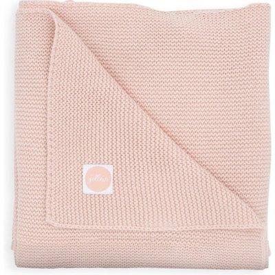 Jollein Jollein Basic Knit Pale Pink 100 x 150 cm Ledikantdeken