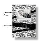 Fashion Kids  Kaarten bundel panterprint tape zwart/wit