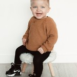 Fashion Kids  Oversized sweater camel