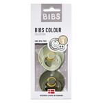 BIBS Bibs fopspenen natuurrubber blister Sage / Hunter green T1