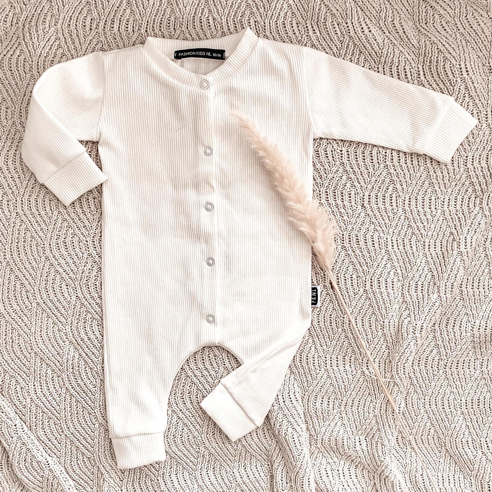 Fashion Kids  Babyrib boxpakje wit