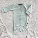Fashion Kids NL Babyrib boxpakje mint groen