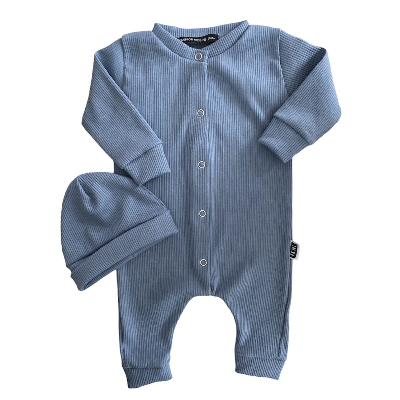 Fashion Kids  Babyrib boxpakje ocean blue