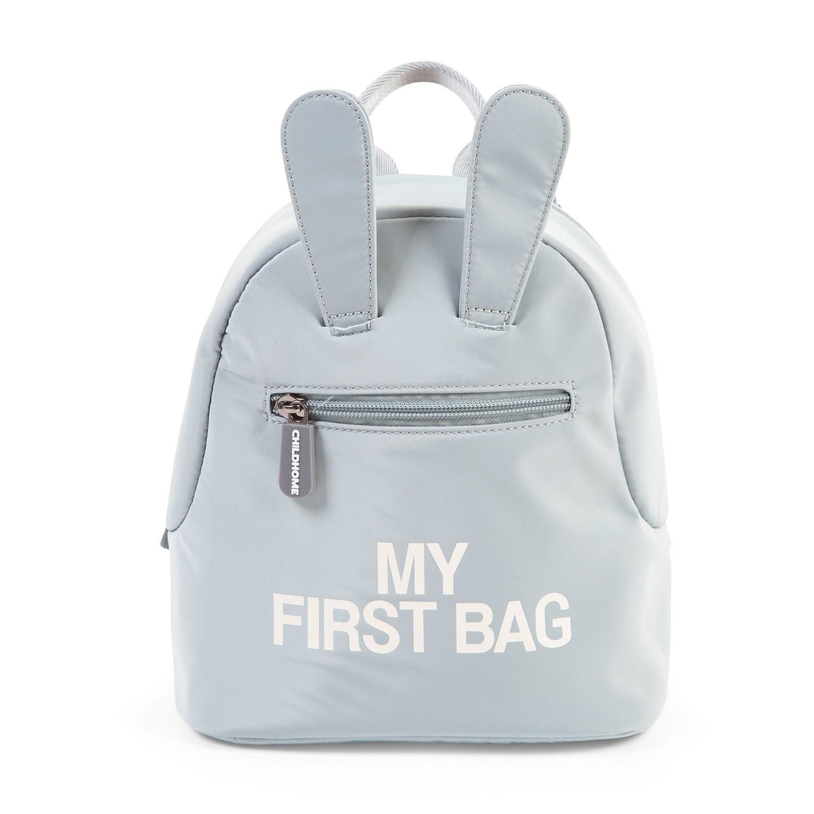 Childhome My first bag kinderrugzak grijs