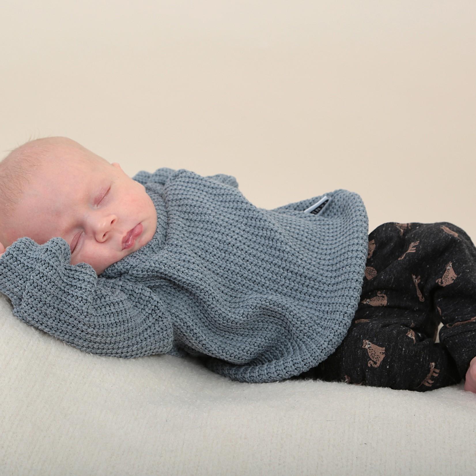 Fashion Kids  Knit sweater ocean blue