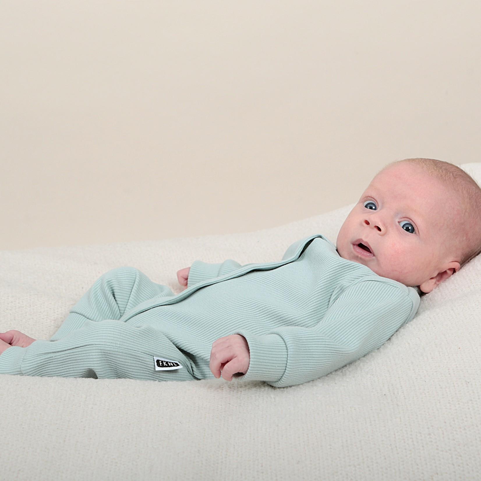Fashion Kids  Babyrib boxpakje mint groen
