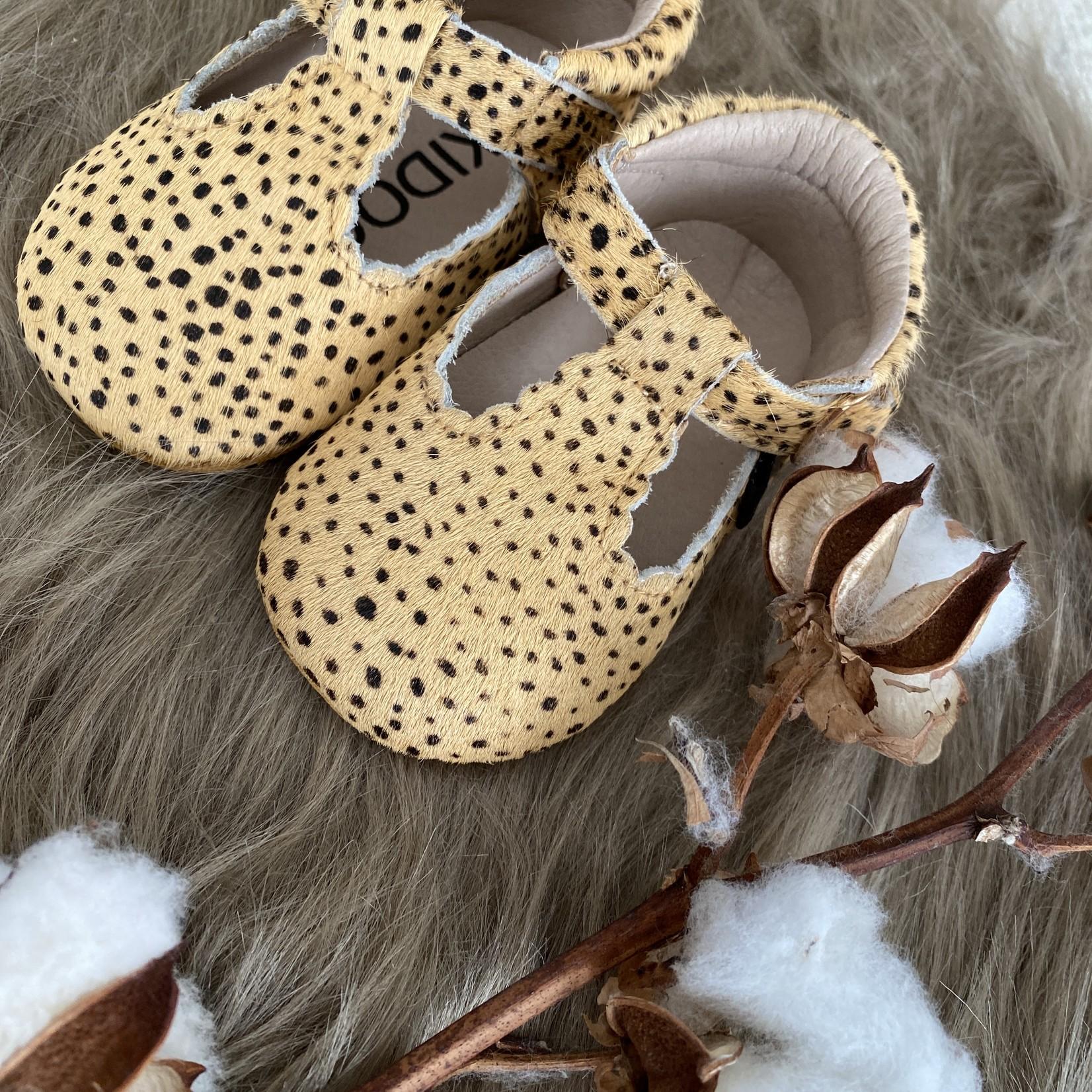 Kidooz Schoentje beige mini spots