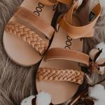 Kidooz Bruine sandaaltjes