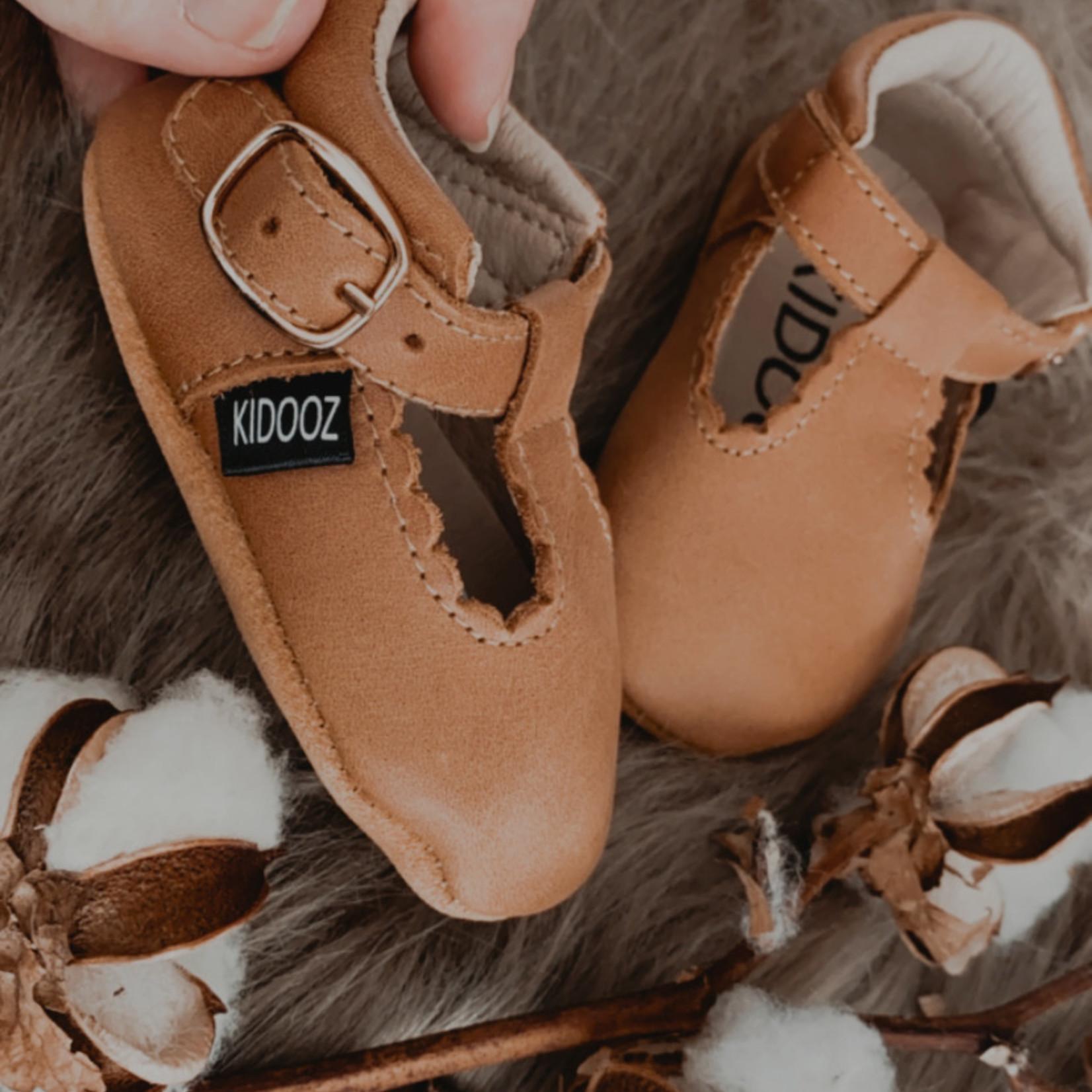 Kidooz Leren sandaal bruin