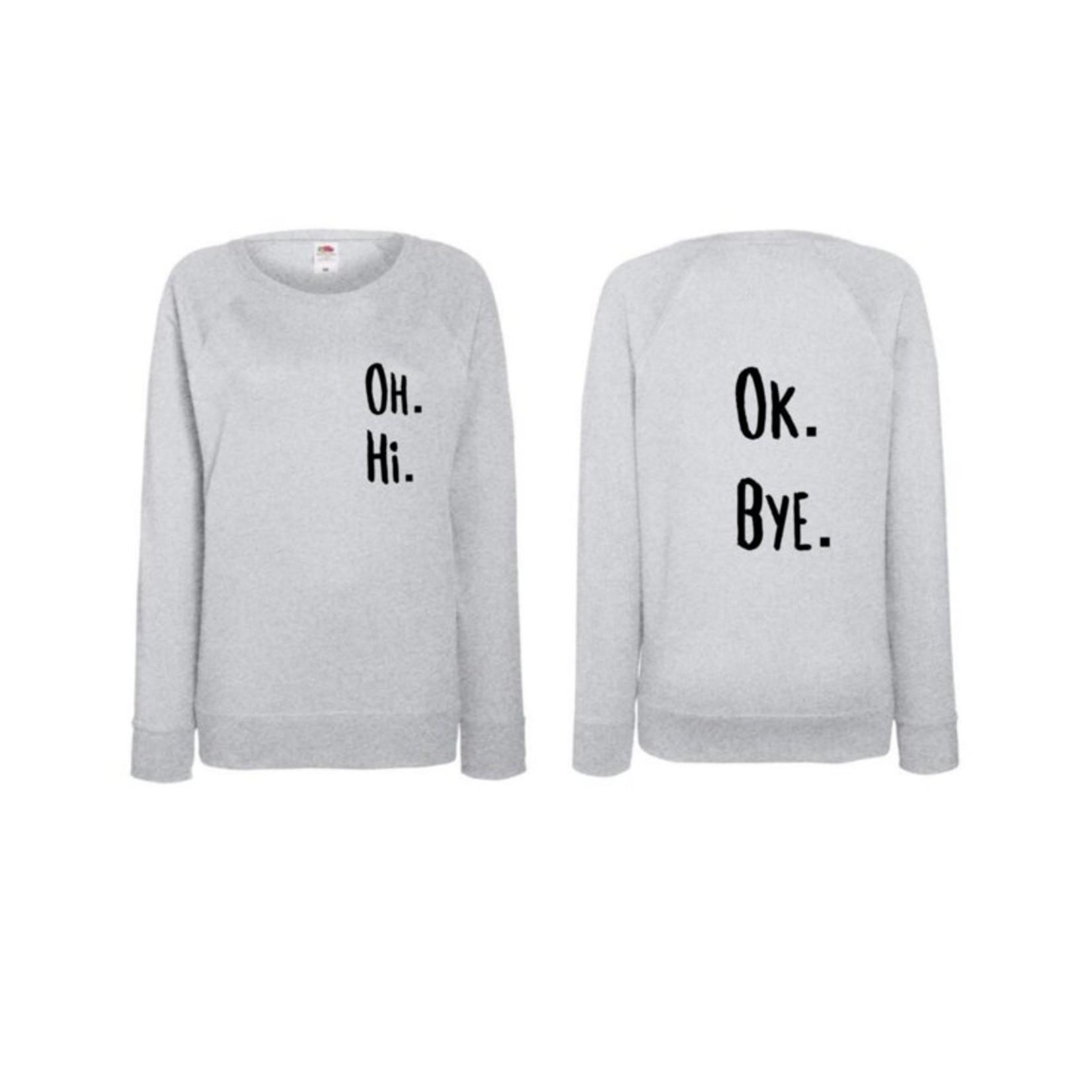 Perf not so Perf Sweater ok bye.