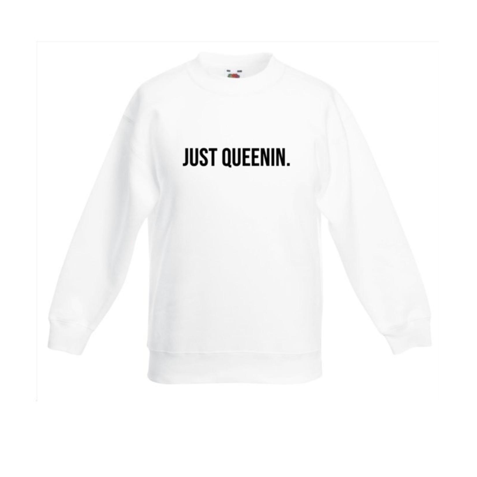 Perf not so Perf Sweater just queenin