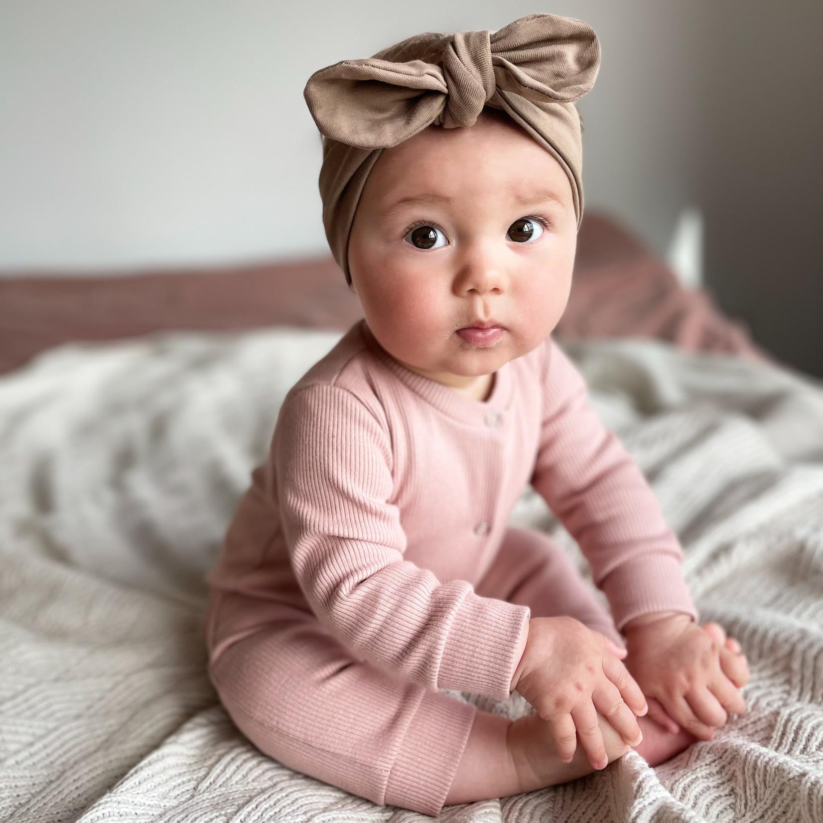 Fashion Kids  Babyrib boxpakje poeder roze