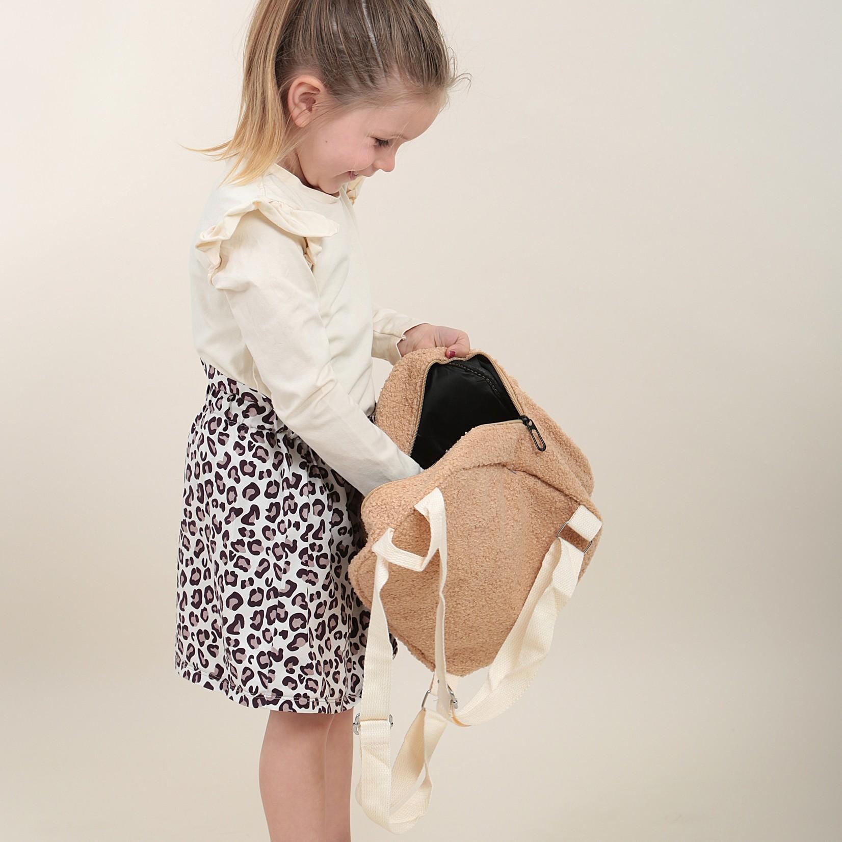 Fashion Kids  Teddy tas naam geborduurd