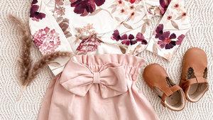 Kinderkledingmaten in maanden en jaren