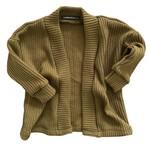 Fashion Kids  Oversized knit vest  olijfgroen