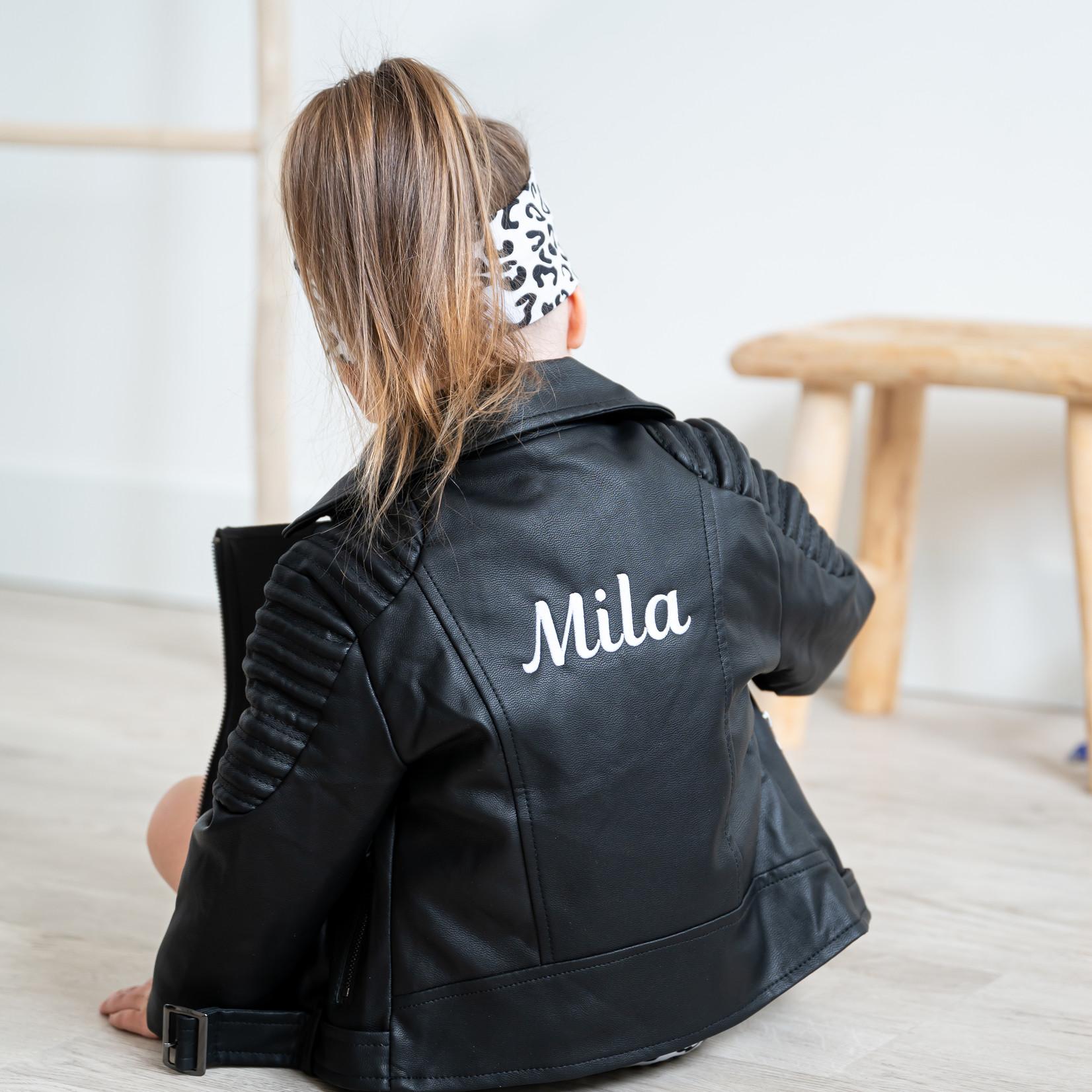 Fashion Kids  Custom Made leren jasje