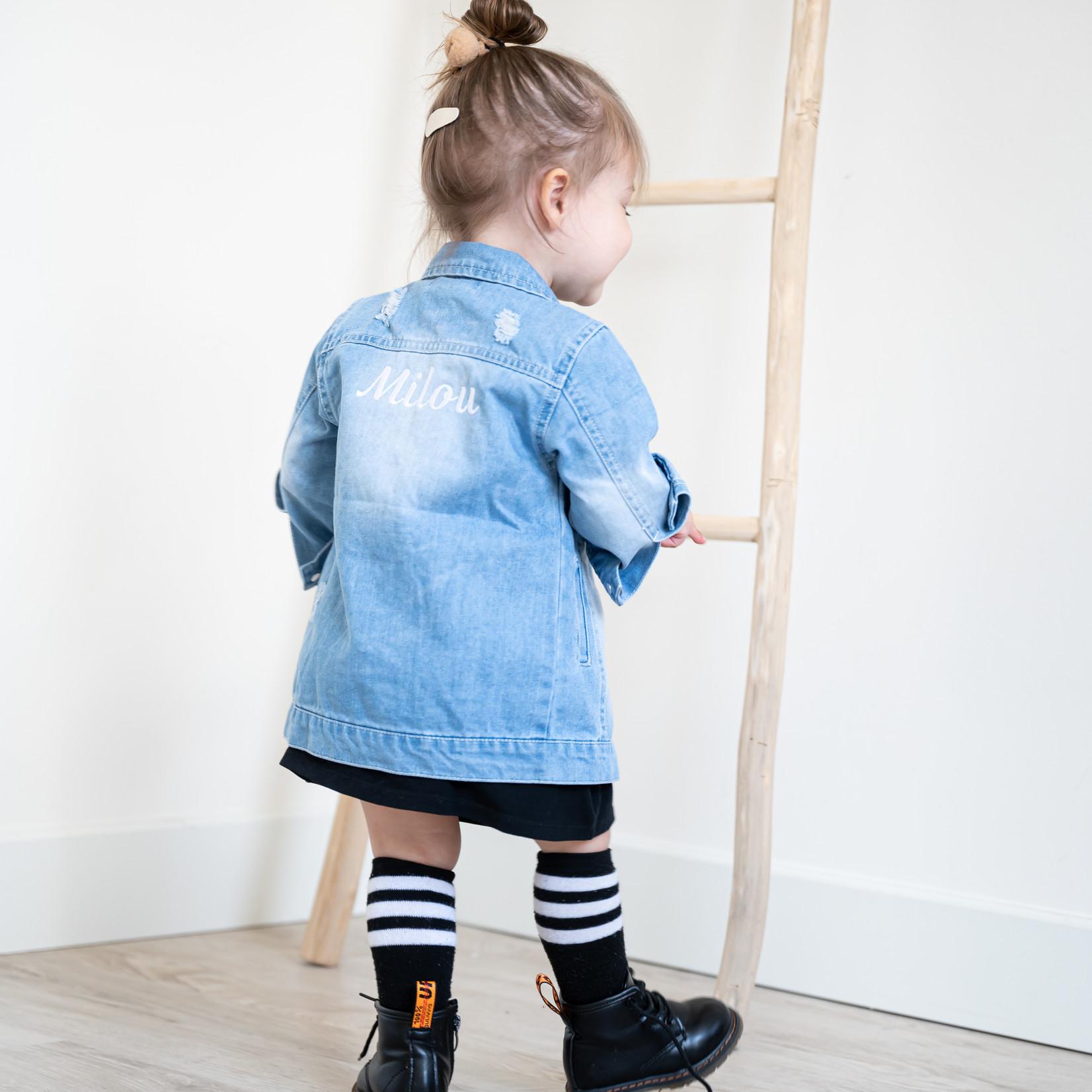 Fashion Kids  Custom Made Spijkerjasje
