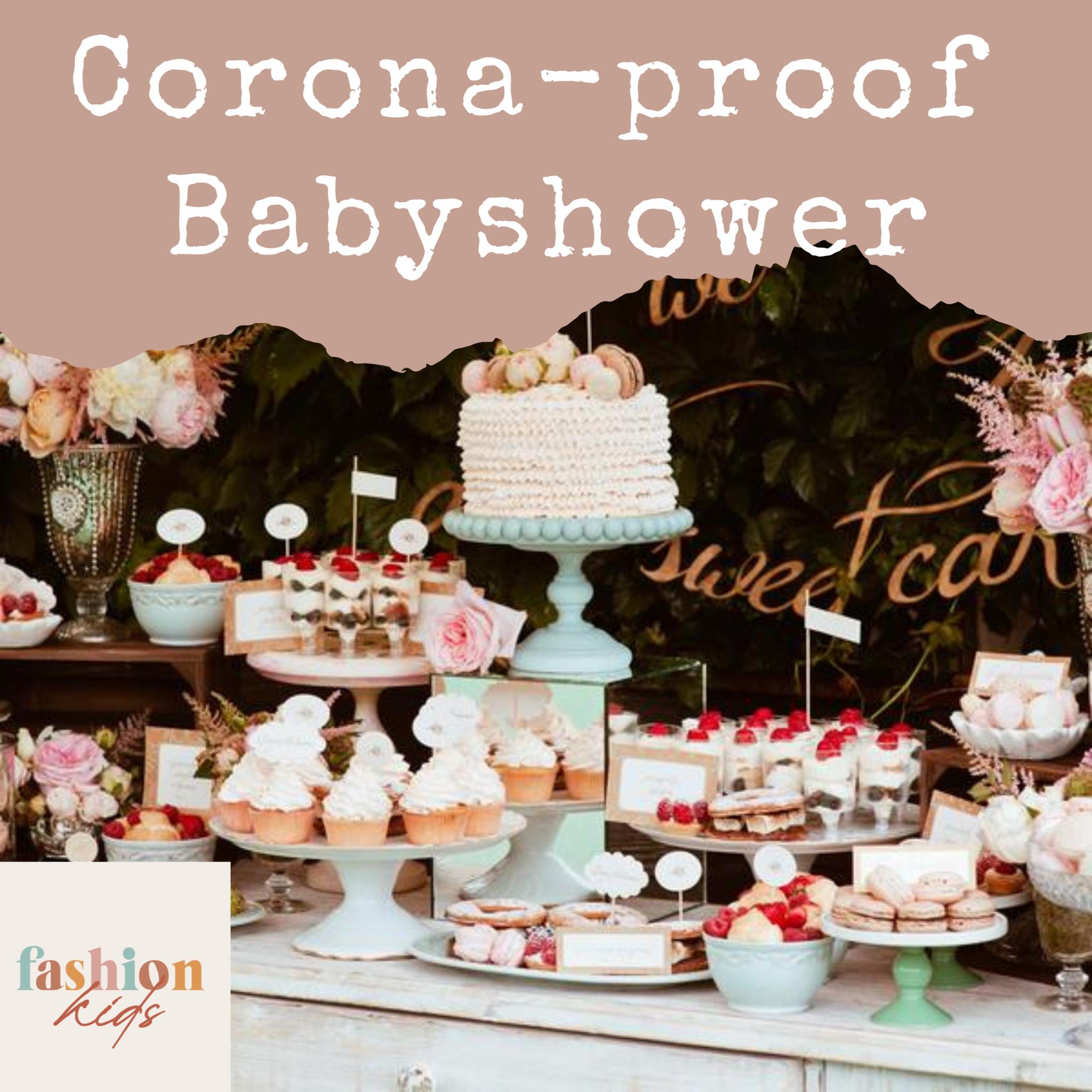 Corona-proof babyshower