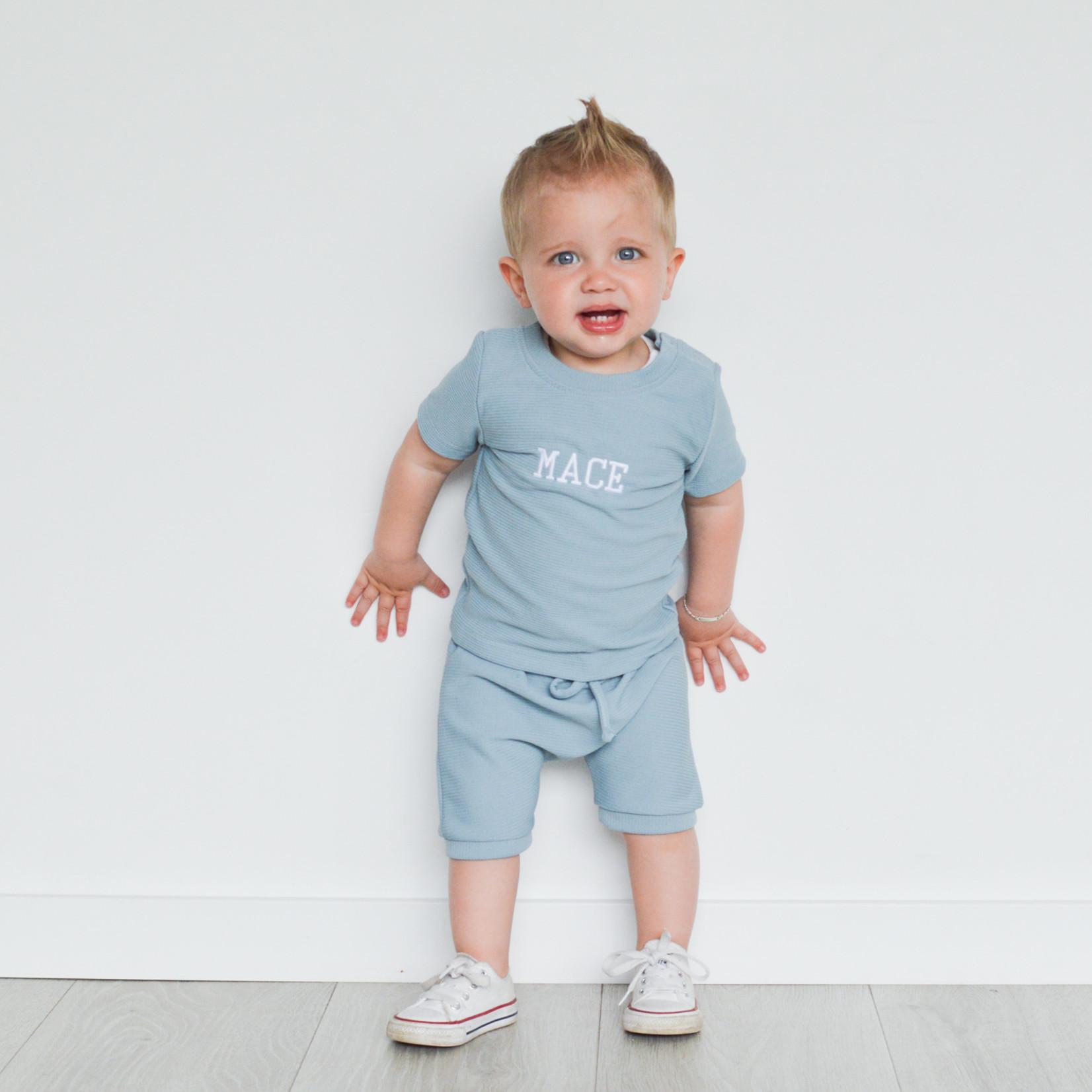 Fashion Kids  Rib set blauw