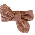 Fashion Kids  Haarband Mini Rib nude