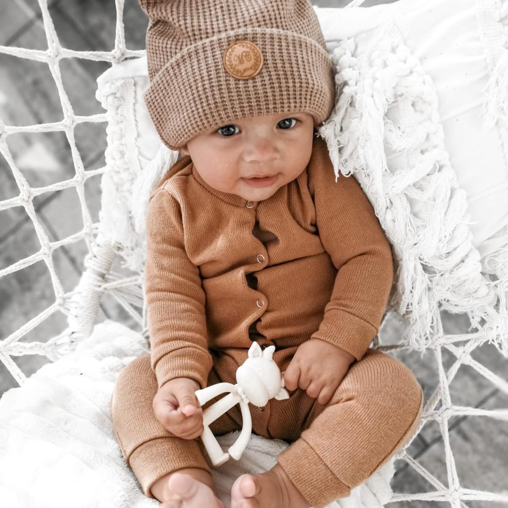 Fashion Kids  Boxpakje knit camel